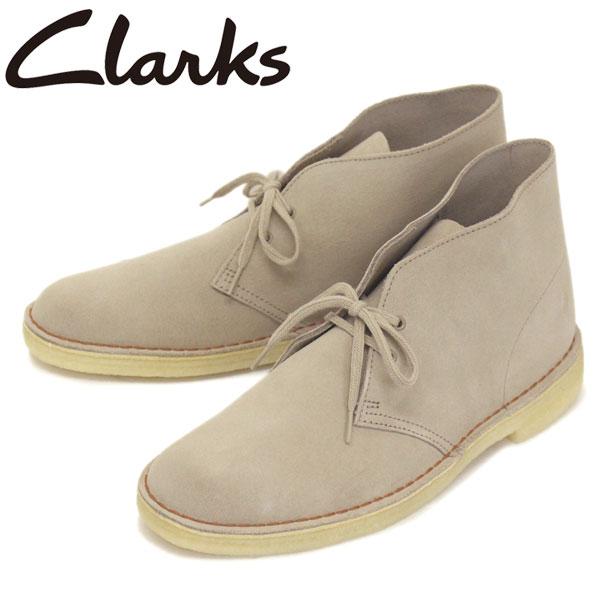 正規取扱店 Clarks (クラークス) 26138235 Desert Boot デザートブーツ メンズブーツ Sand Suede CL009