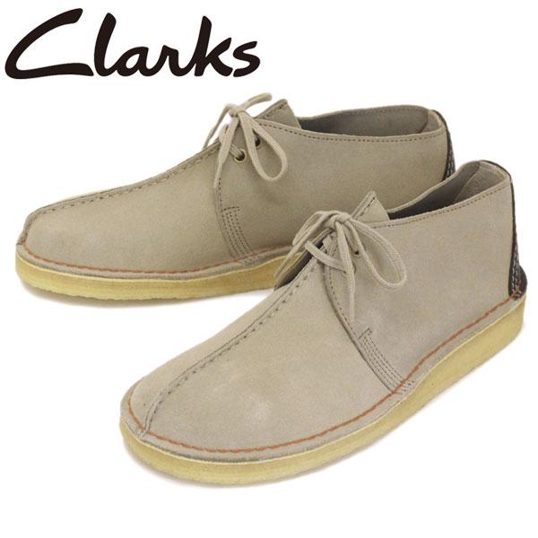 正規取扱店 Clarks (クラークス) 26138666 Desert Trek デザートトレック メンズシューズ Sand Suede CL010