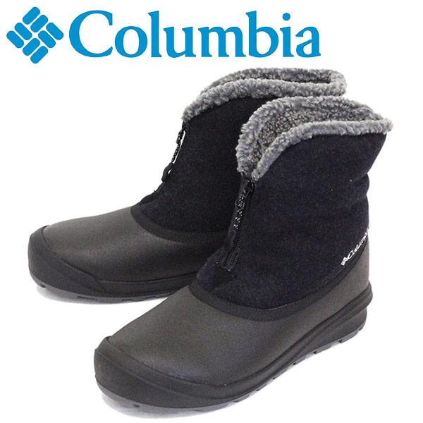 正規取扱店 Columbia (コロンビア) YU0282 チャケイピ2スリップ オムニヒート ウィンターブーツ 010 BLACK CLB010