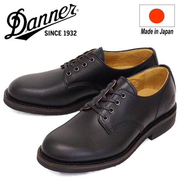 正規取扱店 DANNER (ダナー) D213106 Lombard Gw ロンバード レザーシューズ BLACK 日本製