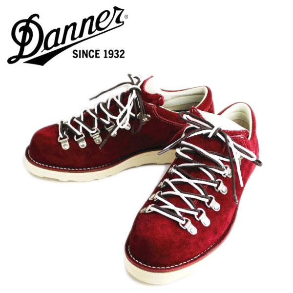 Regular handling DANNER (Danner) THREE WOOD LOW on the MOUNTAIN RIDGE of the separate note model (mountain リッジロー) BURGUNDY SUEDE Burgundy suede boots fs3gm