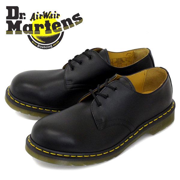 正規取扱店 Dr.Martens ドクターマーチン 1925Z 3EYE STEEL TOE 3ホール スチール入り BLACK ブラック