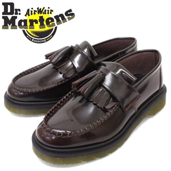 正規取扱店 Dr.Martens ドクターマーチン ADRIAN SLIP ON SHOE エイドリアンスリッポンシュー タッセルローファー CHERRY RED ARCADIA (BURGUNDY バーガンディー)