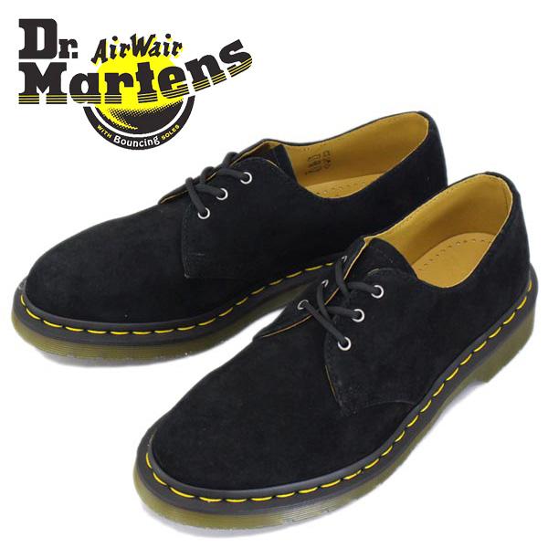 正規取扱店 Dr.Martens (ドクターマーチン) 1461 3EYE SHOE (3ホールシューズ) ヌバックレザー Black