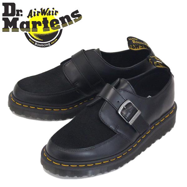 正規取扱店 Dr.Martens (ドクターマーチン) 24535001 RAMSEY MONK ラムゼイ モンク ストラップ レザーシューズ BLACK