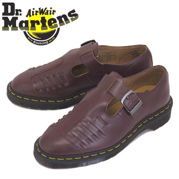 正規取扱店 Dr.Martens (ドクターマーチン) 24551601 MICA ミカ ストラップ レザーシューズ OXBLOOD