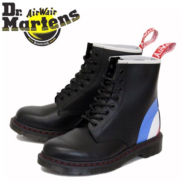 正規取扱店 Dr.Martens (ドクターマーチン) 25268001 1460 WHO ザ・フー 8ホール レザーブーツ BLACK