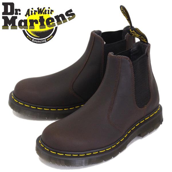 正規取扱店 Dr.Martens (ドクターマーチン) 2976 CHELSEA BOOT レザー チェルシーブーツ SNOWPLOW WP COCOA