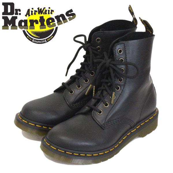 正規取扱店 Dr.Martens (ドクターマーチン) 24991001 WMS 1460 PASCAL 8EYE パスカル レディース レザーブーツ BLACK