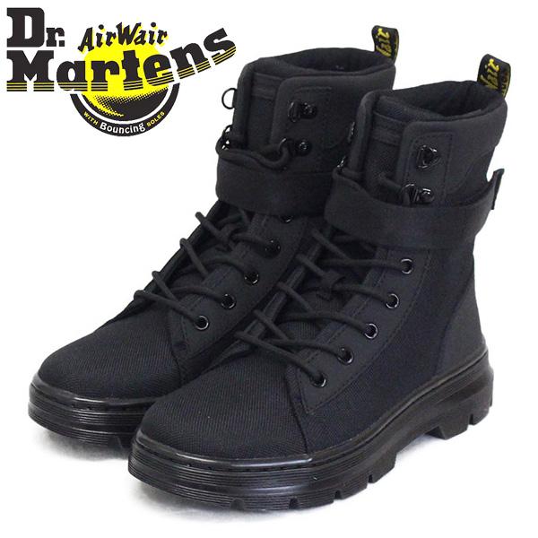 正規取扱店 Dr.Martens (ドクターマーチン) WMS 25542001 COMBS W TECH コム テック 8ホール レディース ブーツ BLACK