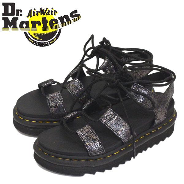 正規取扱店 Dr.Martens (ドクターマーチン) WMS 25557029 NARTILLA II レディース レザーサンダル GANMETAL