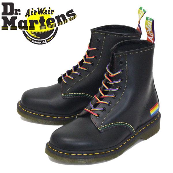 正規取扱店 Dr.Martens (ドクターマーチン) 25701001 1460 PRIDE 8EYE プライド レザーブーツ BLACK