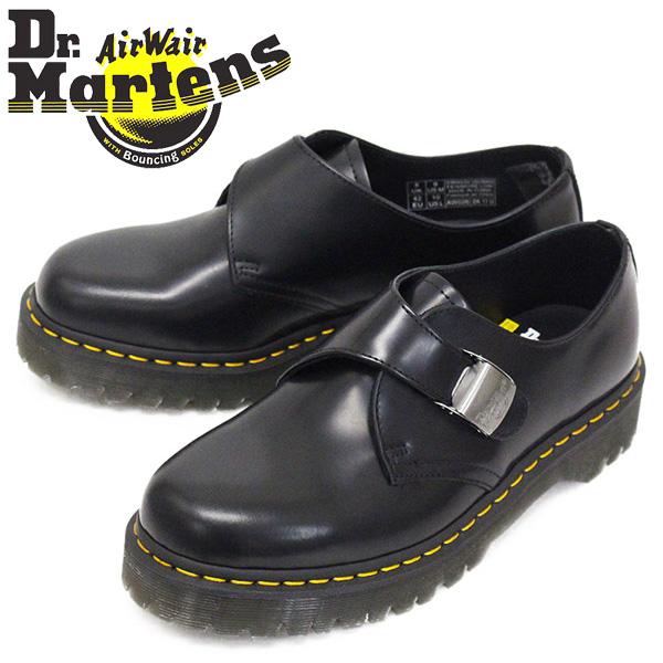 正規取扱店 Dr.Martens (ドクターマーチン) 25751001 FENIMORE LOW フェニモア ロー レザーシューズ BLACK