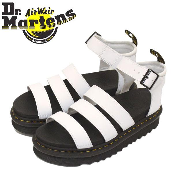 正規取扱店 Dr.Martens (ドクターマーチン) WMS 25768100 BLAIRE ブレアー 3ストラップ レディース レザーサンダル WHITE