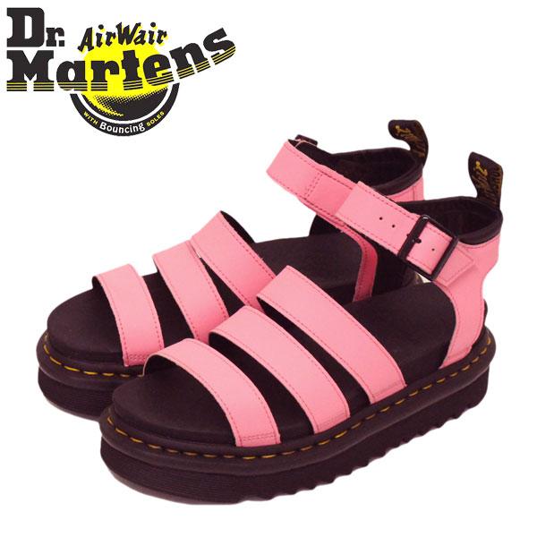 正規取扱店 Dr.Martens (ドクターマーチン) WMS 25768976 BLAIRE ブレアー 3ストラップ レディース レザーサンダル PINK LEMONADE