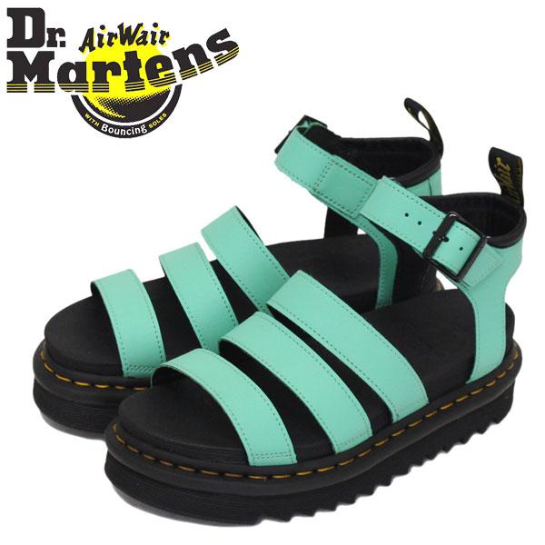 正規取扱店 Dr.Martens (ドクターマーチン) WMS 25768983 BLAIRE ブレアー 3ストラップ レディース レザーサンダル PEPPERMINT GREEN