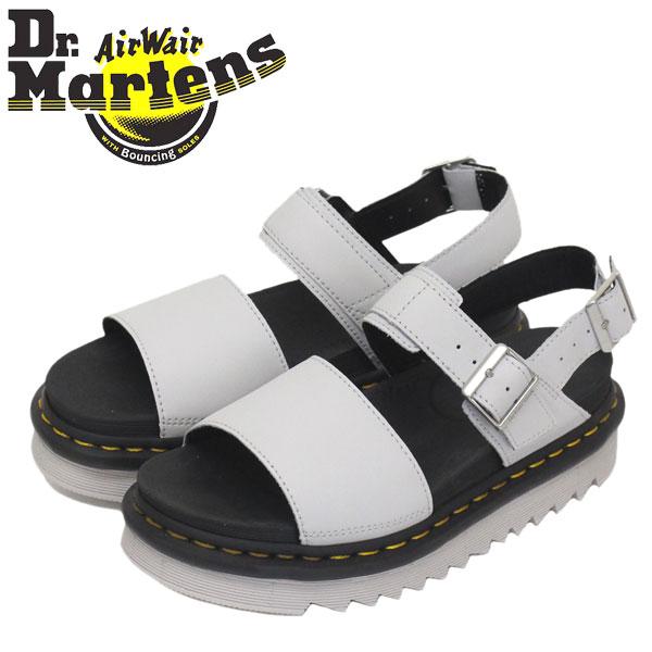 正規取扱店 Dr.Martens (ドクターマーチン) WMS 25771051 VOSS ヴォス レディース レザーサンダル LIGHT GREY