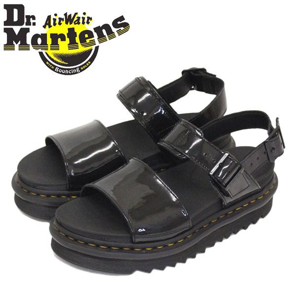 正規取扱店 Dr.Martens (ドクターマーチン) WMS 25773001 VOSS ヴォス パテントランパー レディースサンダル BLACK