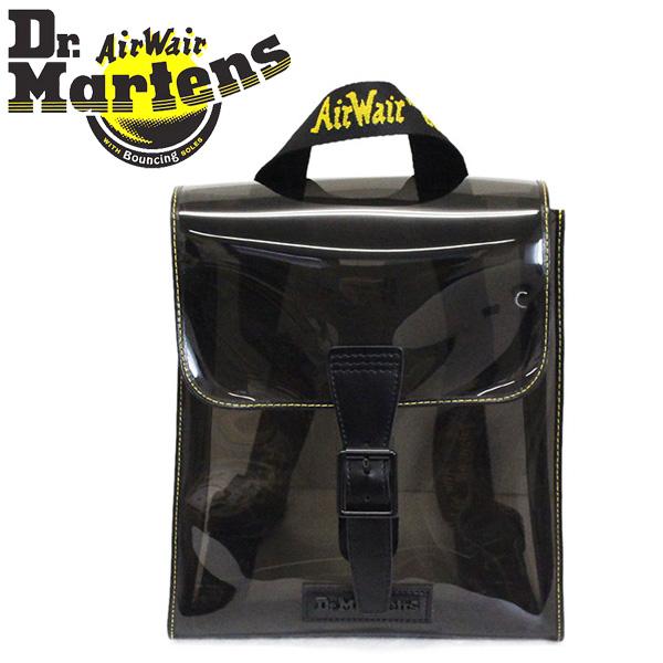 正規取扱店 Dr.Martens (ドクターマーチン) AB053003 TRANSPARENT BACKPACK バックパック BLACK/CLEAR