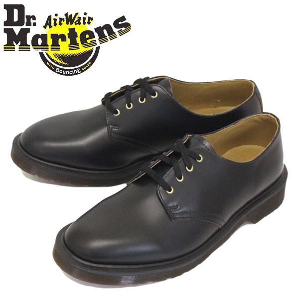 正規取扱店 Dr.Martens (ドクターマーチン) 16056001 SMITH 4EYE スミス レザーシューズ BLACK