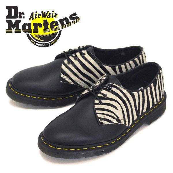 正規取扱店 Dr.Martens (ドクターマーチン) 1461 ZEB 3H レザーシューズ Zebra/Black