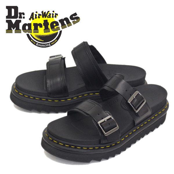 正規取扱店 Dr.Martens (ドクターマーチン) MYLES マイルス レザーストラップ サンダル Black