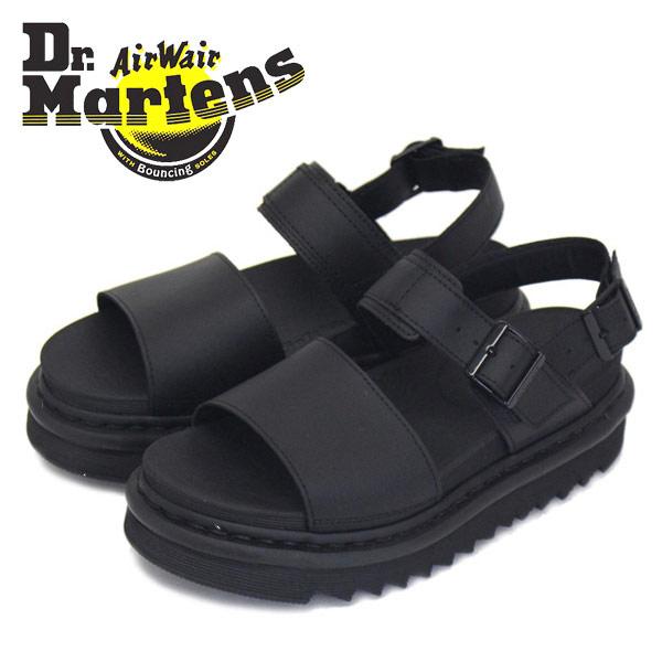 正規取扱店 Dr.Martens (ドクターマーチン) WMS VOSS ヴォス レザーストラップ レディースサンダル Black Hydro