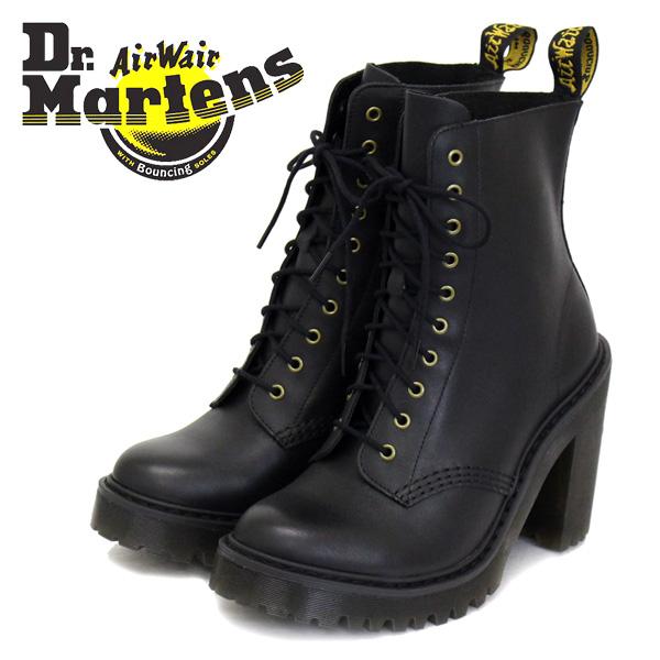 正規取扱店 Dr.Martens (ドクターマーチン) WMS SEIRENE KENDRA ケンドラ レディース 10ホールチャンキーヒールブーツ BLACK SENDAL
