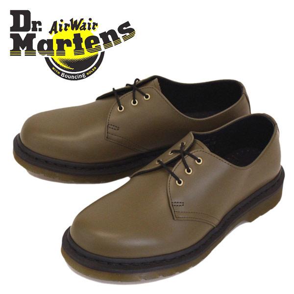 正規取扱店 Dr.Martens (ドクターマーチン) CORE 1461 3ホール シューズ OLIVE SMOOTH