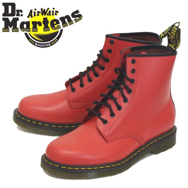 正規取扱店 Dr.Martens (ドクターマーチン) 24614636 1460 8EYE スムースレザー ブーツ SATCHEL RED