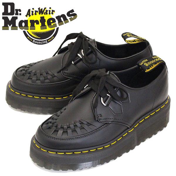 正規取扱店 Dr.Martens (ドクターマーチン) 24994001 SIDNEY シドニー Dリング レース レザーシューズ BLACK