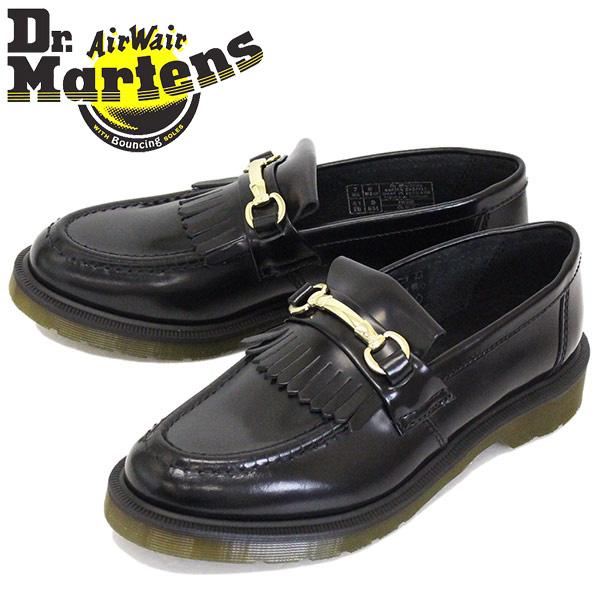 正規取扱店 Dr.Martens (ドクターマーチン) 25024001 ADRIAN SNAFFLE エイドリアン スナッフル ローファー レザーシューズ BLACK