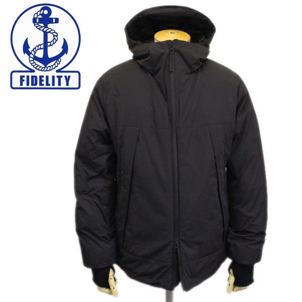 正規取扱店 FIDELITY (フィデリティ) FD182TS26111 DOWN PARKA ダウンパーカー 09C.BLACK FD028