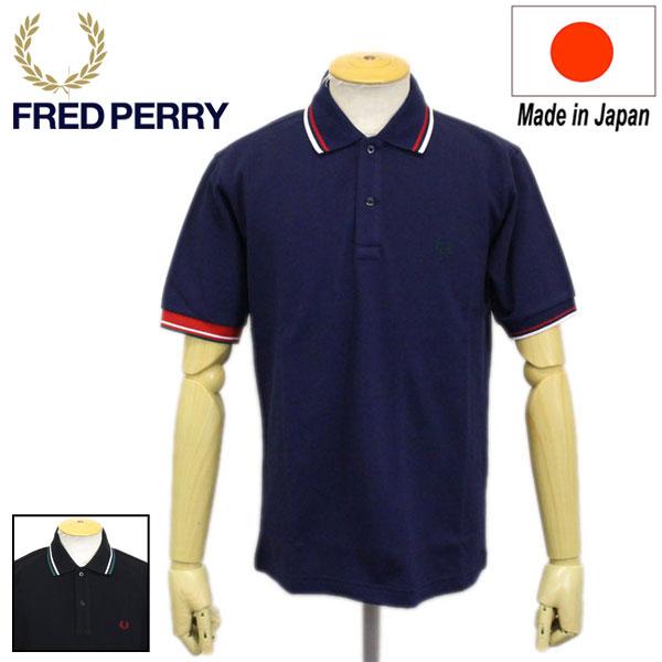 正規取扱店 FRED PERRY (フレッドペリー) F1755 CRAZY COLOUR RIB POLO SHIRT リブポロシャツ 全2色 FP332