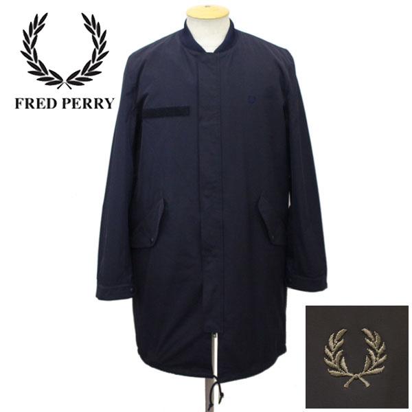 スーパーセール正規取扱店 FRED PERRY (フレッドペリー) F2478 FISHTAIL BOMBER COAT (フイッシュテイルボンバーコート) 全2色 FP261