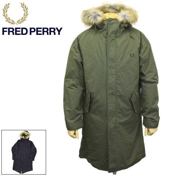 正規取扱店 FRED PERRY (フレッドペリー) F2607 FISHTAIL PARKA フイッシュテイルパーカー モッズコート 全2色 FP356