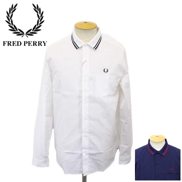 正規取扱店 FRED PERRY (フレッドペリー) F4403 COLLAR RIB SHIRT (カラーリブシャツ) 全2色 FP255