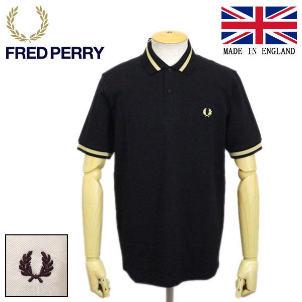正規取扱店 FRED PERRY (フレッドペリー) M2 REISSUES SINGLE TIPPED FP SHIRT ポロシャツ イングランド製 全2色 FP342