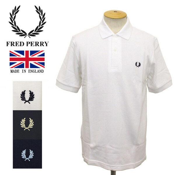 正規取扱店 FRED PERRY (フレッドペリー) M3N THE ORIGINAL FP SHIRT (オリジナルポロシャツ) イングランド製 全3色 FP273