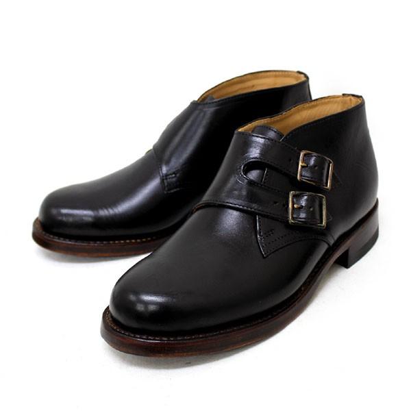 正規取扱店 HTC(Hollywood Trading Company) SANTA ROSA(サンタローサ) #VALLEJO MONK BOOTS(モンクブーツ) BLACK ブラック