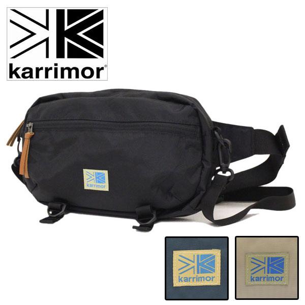 正規取扱店 karrimor (カリマー) VT hip bag R 2WAY ボディバッグ 全3色 KR001