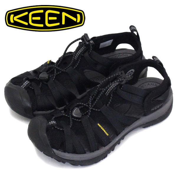 正規取扱店 KEEN (キーン) 1018227 Women's WHISPER ウィスパー サンダル BLACK/MAGNET レディース KN321