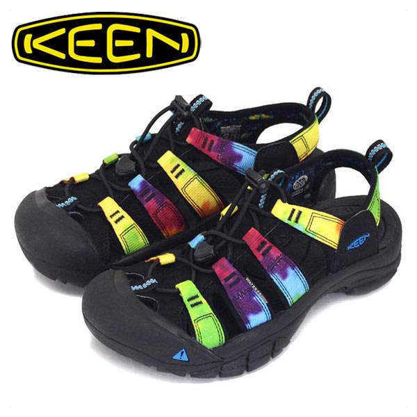 正規取扱店 KEEN (キーン) Women's NEWPORT RETRO 1018822 (ニューポート レトロ レディースサンダル) ORIGINAL TIE DYE KN254