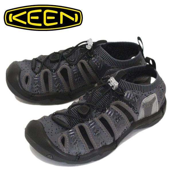 正規取扱店 KEEN (キーン) 1021390 Men's EVOFIT 1 エヴォフィット ワン HEATHERED BLACK/MAGNET KN363