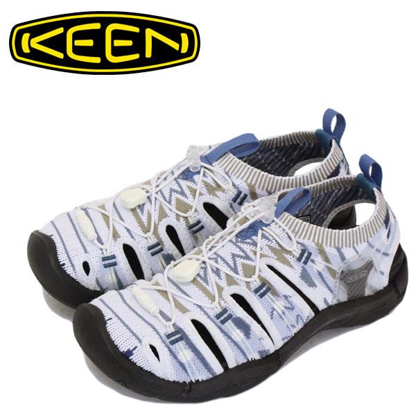 正規取扱店 KEEN (キーン) 1021401 Women's EVOFIT 1 エヴォフィット ワン GRAYISH WHITE/BLACK レディース KN368