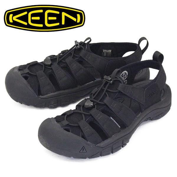 正規取扱店 KEEN (キーン) 1022258 Men's NEWPORT H2 ニューポート エイチツー サンダル TRIPLE BLACK KN436