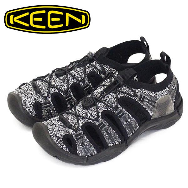 正規取扱店 KEEN (キーン) 1022321 Women's EVOFIT 1 エヴォフィット ワン レディース サンダル MIX GRAY/BLACK KN442
