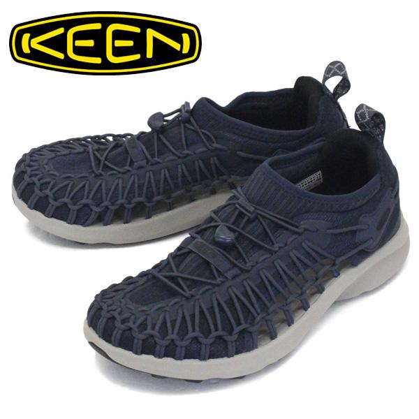 正規取扱店 KEEN (キーン) 1022381 Men's UNEEK SNK ユニーク スニーク スニーカー BLUE NIGHTS/BLACK KN458