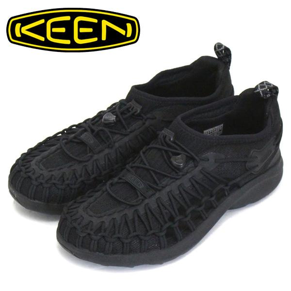 正規取扱店 KEEN (キーン) 1022404 Women's UNEEK SNK ユニーク スニーク レディース スニーカー BLACK/BLACK KN462