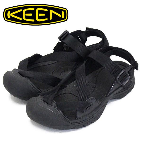 正規取扱店 KEEN (キーン) 1022500 Women's ZERRAPORT II ゼラポート ツー レディース ストラップサンダル BLACK/BLACK KN472